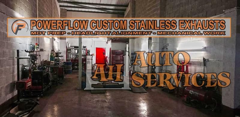Full Stainless Steel Exhaust Antrim, Custom Exhaust Systems Antrim